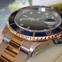 Rolex Submariner ST GG REF 16613 + WIE NEU+ BOX U PAPIERE