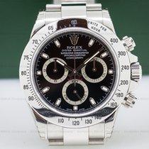 Rolex 116520 Daytona Black Dial SS NEW OLD STOCK (26838)