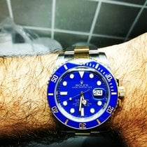 Rolex Submariner Date Flat Blue Rare Dial