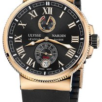 Ulysse Nardin Marine Collection Manufacture 18k Rose Gold...