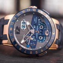 Ulysse Nardin El Toro 18k Rose Gold/Ceramic GMT Perpetual Ltd.