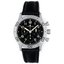 Breguet Type XX Aeronavale Men's Platinum Chronograph Watch...