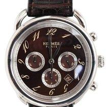Hermès NEW AR4.910.435/MHA Arceau Automatic Chronograph @...
