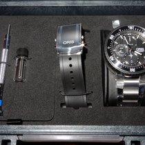 Oris ProDiver Chronograph Titan 51mm Schwarz Deutschland, Gelsenkirchen