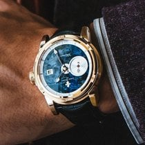 Louis Moinet Red gold 43.5mm Automatic LM-34.50 new