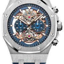 Audemars Piguet Royal Oak Tourbillon new Automatic Watch only 26347PT.OO.D315CR.01