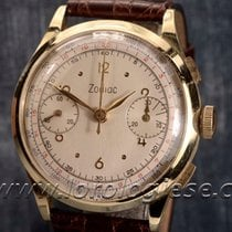 Zodiac – Vintage Solid 18kt. Gold 37mm Chronograph  – Cal....