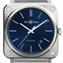 Bell & Ross Steel 39mm Automatic BR S new