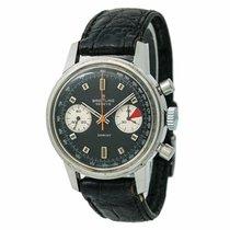 Breitling Sprint 2010 Mens Hand Winding Vintage Watch Black...