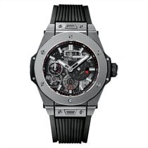 Hublot 45mm Manual winding pre-owned Big Bang Meca-10 Transparent