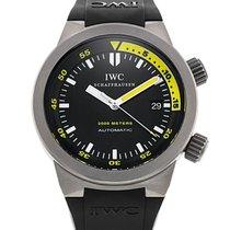 IWC Aquatimer Automatic 2000 pre-owned 42mm Titanium
