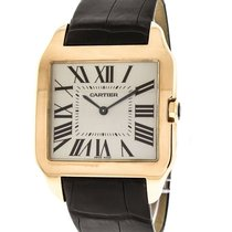 Cartier Santos Dumont Rose gold 35mm Champagne Roman numerals United States of America, Florida, Sarasota