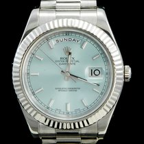 Rolex Or blanc 41mm Remontage automatique 218239 occasion Belgique, Brussel