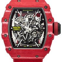 Richard Mille Carbone 50mm Remontage automatique RM 35-02 nouveau