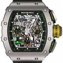 Richard Mille RM 011 Titan 49.94mm Transparent Arabiska Sverige, Gothenburg