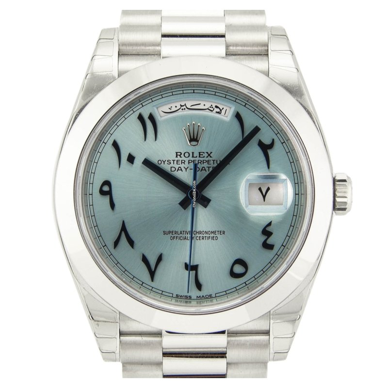 79f22cfdfb5 Rolex Day-Date 40 Platinum - all prices for Rolex Day-Date 40 Platinum  watches on Chrono24