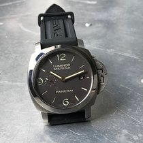 Panerai Luminor Marina 1950 3 Days Automatic folosit 44mm Maron Data Piele