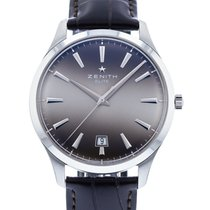 Zenith Captain Central Second Steel 40mm Grey United States of America, Georgia, Atlanta
