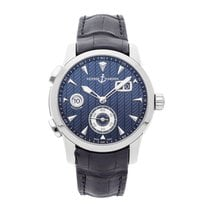 Ulysse Nardin pre-owned Automatic 42mm Blue 10 ATM