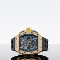 Richard Mille RM 011 Rose gold 42mm No numerals