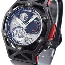 Hublot Techframe Ferrari Tourbillon Chronograph 45mm Negro