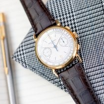 Patek Philippe Chronograph Yellow gold 36mm Silver