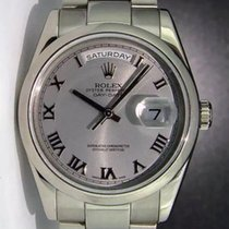 Rolex Day-Date 36 36mm Silver