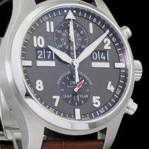 IWC Fliegeruhr Spitfire Perpetual Calendar Digital Date-Month IW379107 Sehr gut Stahl 46mm Automatik Deutschland, Köln