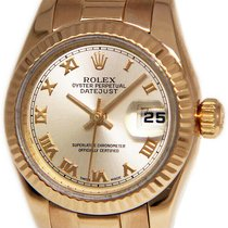Rolex 179175 Or rose 2002 Lady-Datejust 26mm occasion