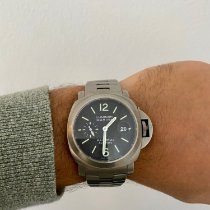 Panerai Luminor Marina Automatic begagnad 44mm Grå Titan