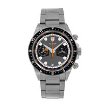 Tudor Heritage Chrono Steel 42mm Grey No numerals United States of America, New York, New York