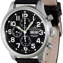 Zeno-Watch Basel OS Pilot Carbon Chrono Day-Date