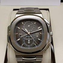 百達翡麗 (Patek Philippe) 5990/1A Steel Nautilus Chronograph Black...