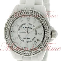 Chanel J12 Ceramic 38mm White Arabic numerals United States of America, New York, New York