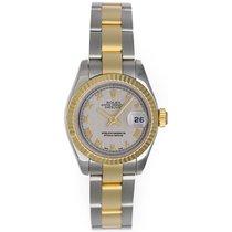 Rolex Datejust 2-Tone Ladies Steel & Gold Watch 179173...