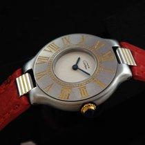 Cartier 21 Must de Cartier Stahl 27mm Weiß Römisch Schweiz, Nyon