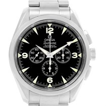Omega Aqua Terra Railmaster Mens Chronograph Watch 2812.52.37