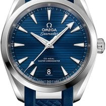 Omega Seamaster Aqua Terra Steel 38mm Blue United States of America, New York, Airmont