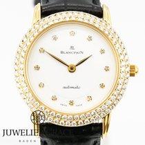 Blancpain Villeret 18K Original Diamantbesatz Automatik