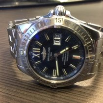 Breitling pre-owned Automatic 41mm Blue Sapphire Glass 30 ATM