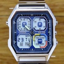 Citizen Steel Quartz IZ-35CIT.01.2018 new
