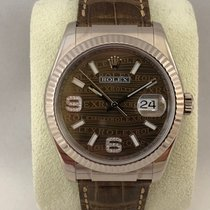 Rolex Datejust White Gold Diamond dial 116139 / 36mm
