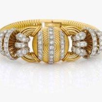 Vacheron Constantin 1940s  WRISTCONCEALED  DIAL  DIAMOND  18Kt...