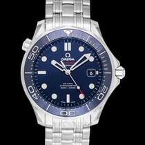 Omega Seamaster Diver 300m Co-Axial 41mm Blue Steel - 212.30.4...