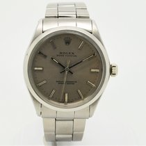 Rolex Air King Precision Acero 34mm Gris Sin cifras