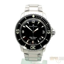 Blancpain 45mm Automatisk 2016 brugt Fifty Fathoms (Submodel) Sort