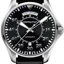 Hamilton Khaki Pilot Day Date H64615155 2020 nouveau