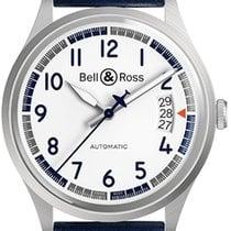 Bell & Ross BR V1 Otel 38.5mm Alb