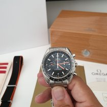 Omega Speedmaster Racing Steel Black No numerals Australia, Sunbury