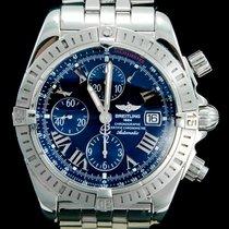 Breitling Chronomat Evolution Staal 44mm Blauw Romeins